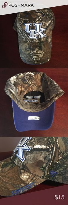 UK Camo Kentucky Wildcats Hat New with tags! Never worn. Accessories Hats