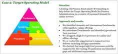 Case 2: Target Operating Model