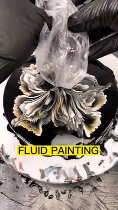 Acrylic Pouring Art, Acrylic Art, Pour Painting, Painting Tips, Art Resin, Resin Crafts, Do It Yourself Inspiration, Diy Canvas Art, Art Plastique