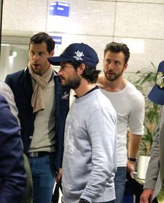 Prince Carl Philip, Duke of Värmland arrived on Athens airport with group of friends to spent three days in Greece on 30.04.2015