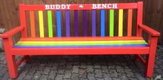 Every school needs a Buddy Bench – natural playground ideas