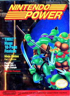 Nintendo Power | Teenage Mutant Ninja Turtles