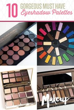 10 Must-Have Eyeshadow Palettes To Up Your Game This Year | The Best Collection Of Pallets To Make Eyes Stand Out by Makeup Tutorials at http://makeuptutorials.com/10-gorgeous-must-eyeshadow-palletes-makeup-tutorials/
