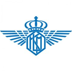 Logo of KLM old logo