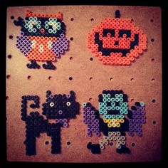 Halloween perler beads by ivyzmanzo
