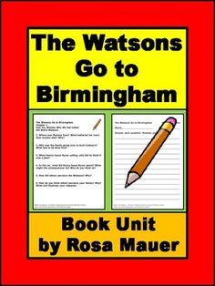 the watsons go to birmingham book report