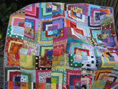A Riot of Colour Quilt | Flickr - Photo Sharing!