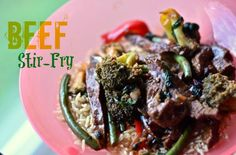 @hillcountrycook Beef Stir Fry, steak, broccoli, green beans, bell pepper, teriyaki, soy sauce, easy, marinade, paleo, 30 minutes or less!