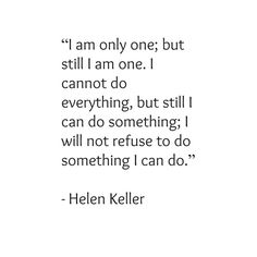 Blog with inspirational quotes from Helen Keller