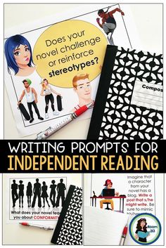 Keeping Kids Accountable with Independent Reading - Learning in Room 213 Reading Lessons, Writing Lessons, Writing Activities, Teaching Reading, Writing Prompts, English Activities, Teaching Resources, Teaching Ideas, Journal Prompts