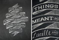 Chalk Wall Inspiration