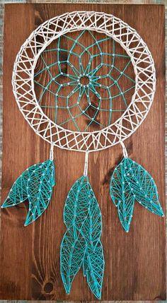 dream catcher hippie custom string art