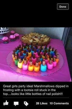 Nail polish marshmallow Thanks for finding this Danielle!!!