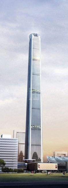 Tianjin 117 Tower (Goldin Finance 117) by P&T Group