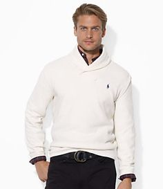 Polo Ralph Lauren French-Rib Shawl-Collar Pullover   Dillard\u0027s Mobile - I  love