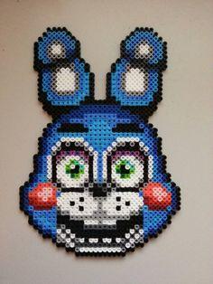 Toy Bonnie Perler by SanJuuRashoumon on DeviantArt Hama fnaf