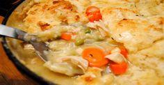 Four servings =  10 smart points per serving Chicken Pot Pie