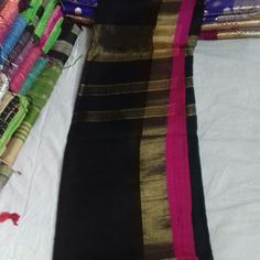 Cotton saree with blouse buttick print