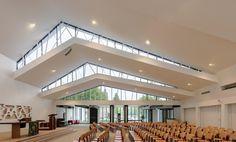 It's the Church De Bron, in Amersfoort NL by Bureau MT.