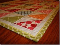 """Piped binding -- ALL by machine! Good tutorial for the method used by Ricky Timms that he credits to """"Traditional Quilts, Today's Techniques"""" by Debra Wagner, which is a BRILLIANT book about machine techniques  Debra Wagner"""