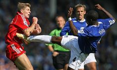 Merseyside Derby, Everton Fc, Football, Baseball Cards, Youtube, Sports, Soccer, Hs Sports, Sport