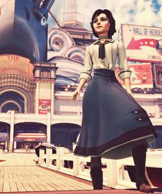 Thinking of doing an elizabeth cosplay for a con later this year. Not sure if this one, the blue dress, or BAS....