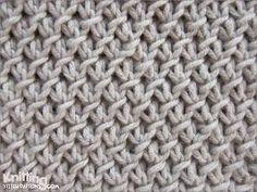 The Purl-Twist Fabric stitch   knittingstitchpatterns.co