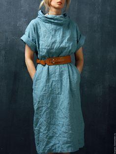 Linen Dress | Льняное платье в интернет магазине на Ярмарке Мастеров