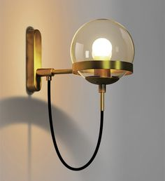 """Universe of goods - Buy """"Modern Simple Bedroom LED Wall Sconce Light Fixtures Indoor Kitchen Living room Corridor Lighting Bar Coffee Wall Lamp Lights"""" for only 58 USD. Glass Wall Lights, Led Wall Lamp, Wall Sconce Lighting, Corridor Lighting, Wall Sconces, Stair Lighting, Dining Lighting, Wall Fixtures, Led Stair Lights"""