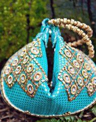 Aquamarine Potli Bag