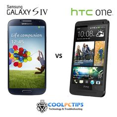Samsung Galaxy S4 vs HTC One - Specs and features comparison