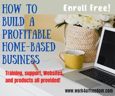 Record-breaking growth has driven us to the top of Internet marketing businesses. You can build a profitable home-based business working part-time from your home computer! Training, support, Websites, and products all provided! Enroll FREE! #sidehustle #makemoneyonline #workfromhome #onlinebusiness #sponsored #ads #canva Digital Marketing Strategy, Business Marketing, Internet Marketing, Online Business Opportunities, Your Freedom, Home Based Business, How To Get Rich, Homework, Affiliate Marketing