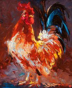 Bandit by Cheri Christensen Oil ~ 10 x 8
