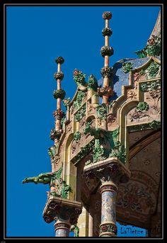 Barcelona La Rotonda detalle