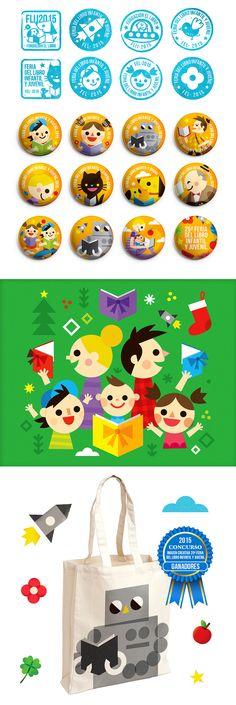 Feria del Libro Infantil y Juvenil on Behance