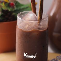 Dessert Drinks, Yummy Drinks, Healthy Smoothies, Healthy Drinks, Easy Cooking, Cooking Recipes, Fun Easy Recipes, Indonesian Food, Coffee Recipes