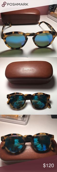 Illesteva Sunglasses Illesteva sunglasses with tortoise shell rims and blue reflection, in perfect condition, no scratches Illesteva Accessories Sunglasses Illesteva Sunglasses, Tortoise Shell, Blue Brown, Fashion Tips, Fashion Design, Fashion Trends, Sunglasses Accessories, Reflection, Best Deals