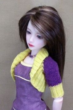 Some free knitting designs by Dollswest