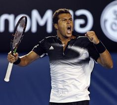 I fell in love with Jo Wilfried Tsonga during the Sony Tennis Tournament/Key Biscayne.
