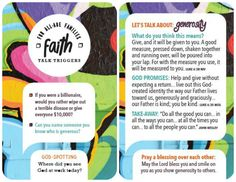 These teen trigger cards are aimed at creating God-centred conversations with your kids and teens. Includes over 40 topics from Reputation to Forgiveness, Temptation to Peer Pressure. Only $15 each and available at special prices when buying 3 pack or more.