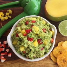 Tropical Guacamole is the perfect party appetizer for any occasion.