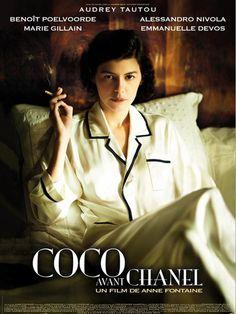 .Coco avant Chanel - L'amore prima del mito è un film biografico del 2009 diretto da Anne Fontaine, con protagonista Audrey Tautou