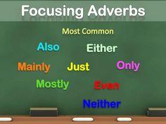 Pengertian 'Focusing Adverb' Beserta Penjelasan Dan Contoh Lengkap - http://www.sekolahbahasainggris.com/pengertian-focusing-adverb-beserta-penjelasan-dan-contoh-lengkap/
