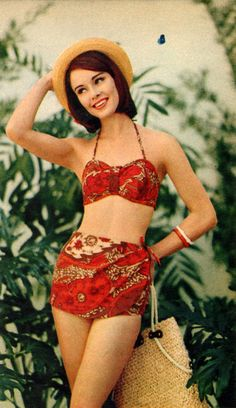 1960s swimwear. i really adore this!!!