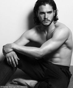 Kit Harrington!!!! Jon Snow in Game of Thrones...you're welcome ;)