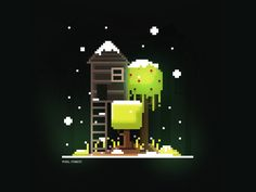 Pixel Forest by Ashly Teoh
