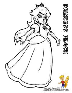 36 best super mario coloring pages