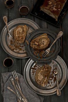 Torta rotolo al caff�. Recipe: http://freebiegate.com/cake-or-spaghetti/cakes-or-spaghetti.html