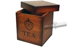 Custom Replica of East India Trading Company Tea Box by RelicWood, $165.00