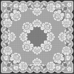 Filet Crochet Pattern by www.filet-crochet-designs.com